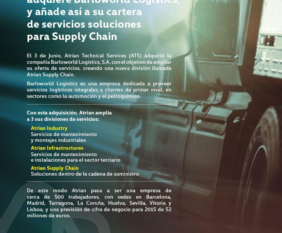 Phi Industrial - Atrian adquisición
