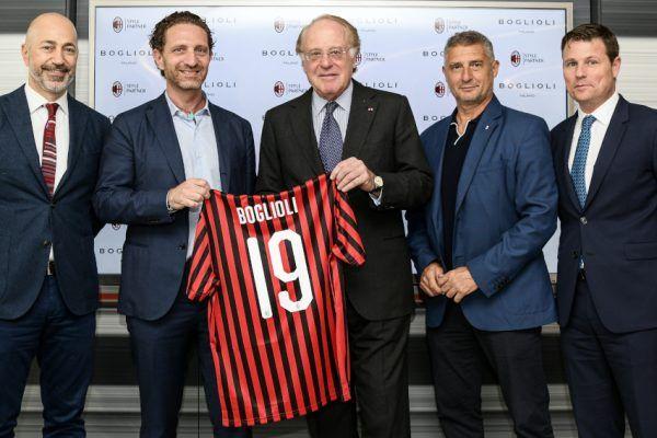 Boglioli and AC Milan Team Up
